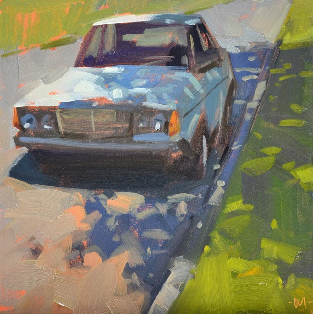"""""""A Shady Spot"""" original fine art by Carol Marine"""