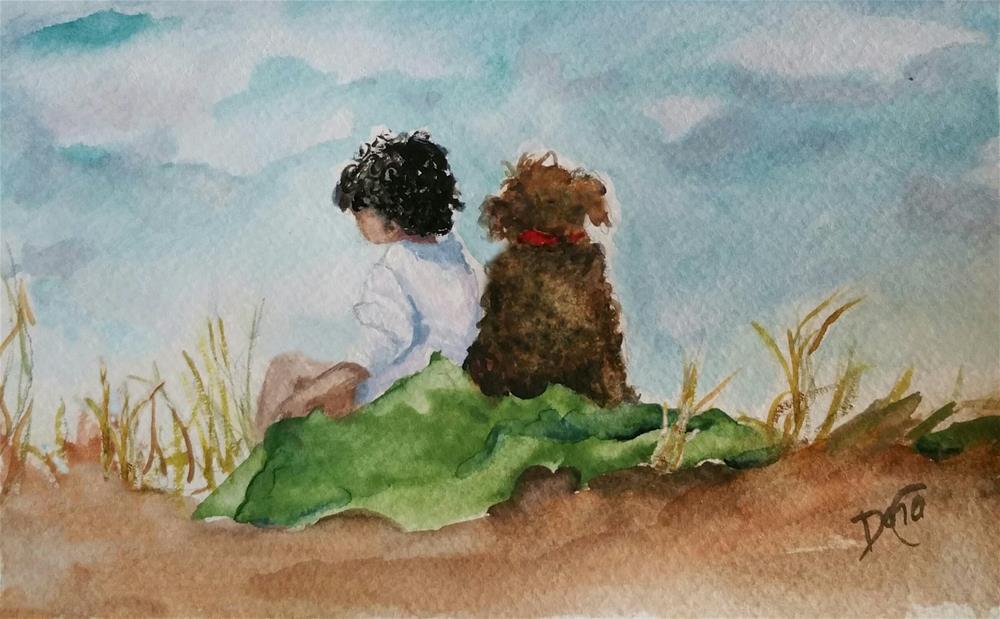 """""""Friends"""" original fine art by Dana C"""