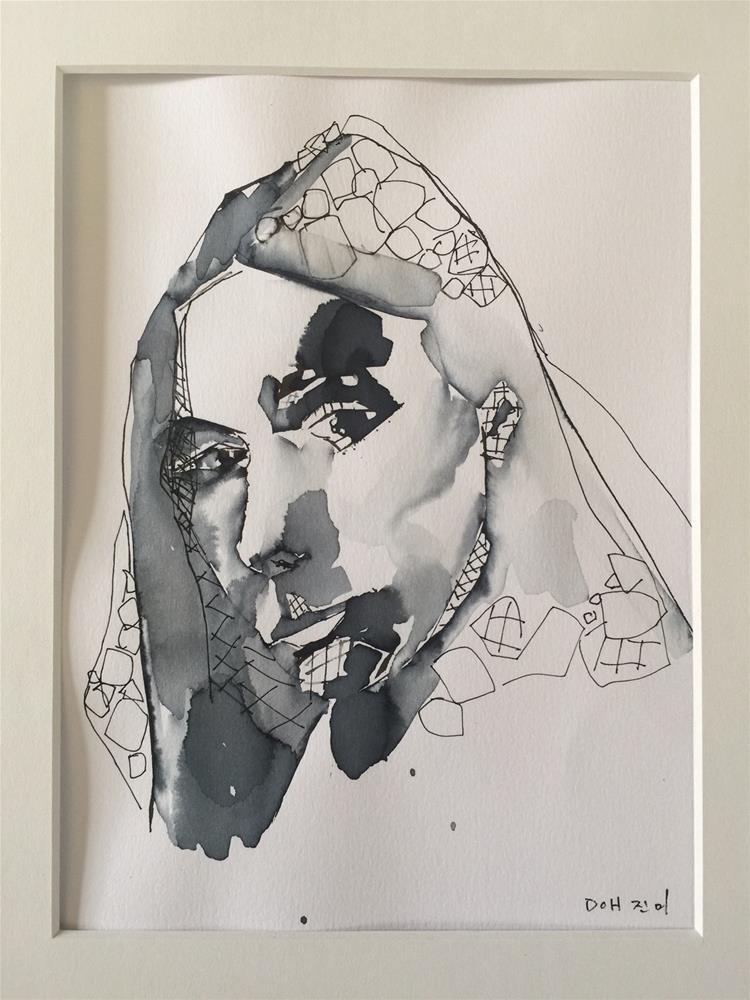 """""""561 Joni"""" original fine art by Jenny Doh"""