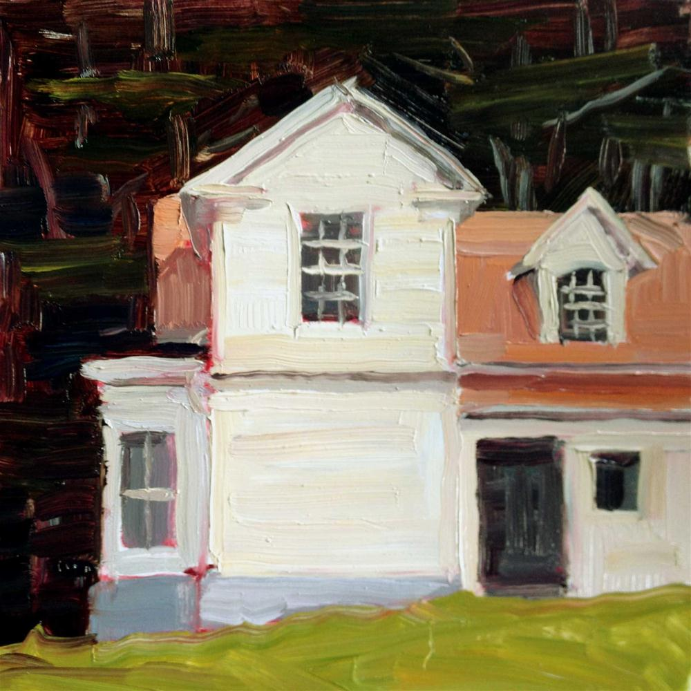 """Pilots Quarters"" original fine art by Deborah Newman"