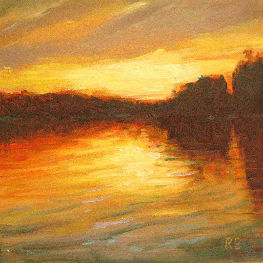 """Golden"" original fine art by Robie Benve"