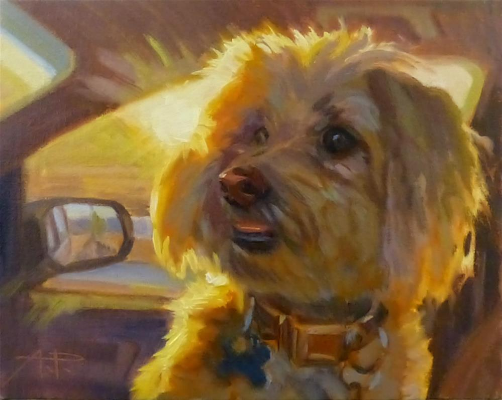 """Travel Companion"" original fine art by Anette Power"