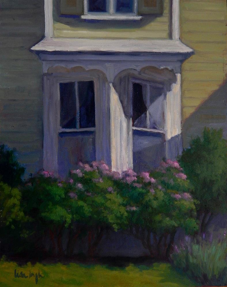 """Bay Window"" original fine art by Lisa Kyle"