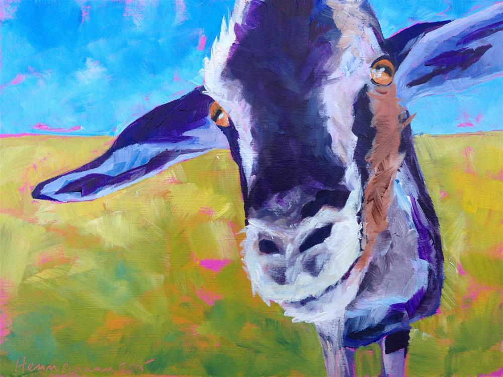 """Peggy's Buddy"" original fine art by Eileen Hennemann"