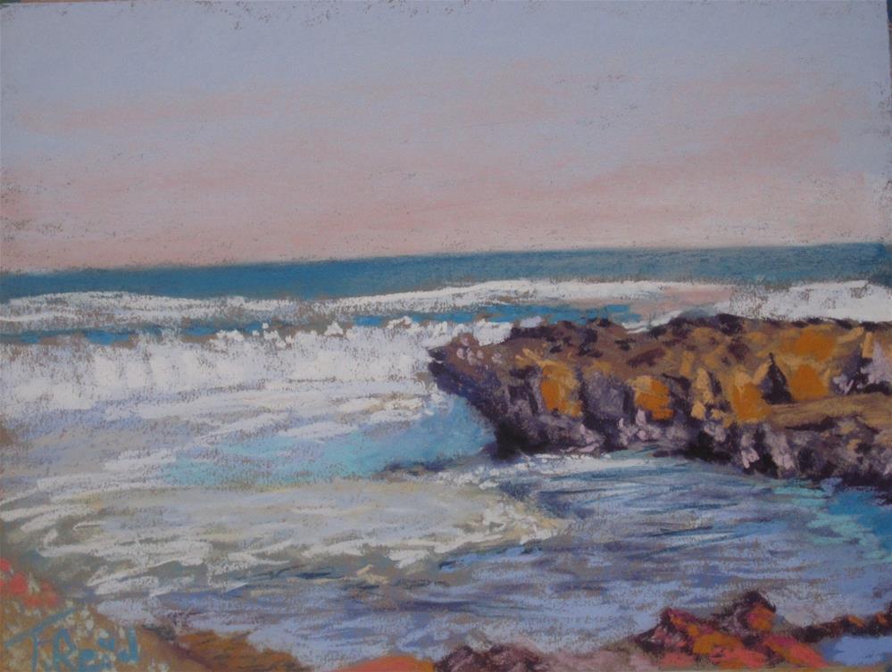 """""""Tide Is In"""" original fine art by Toby Reid"""