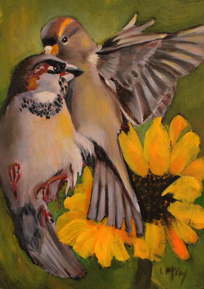 """""""September Morning"""" original fine art by Linda McCoy"""
