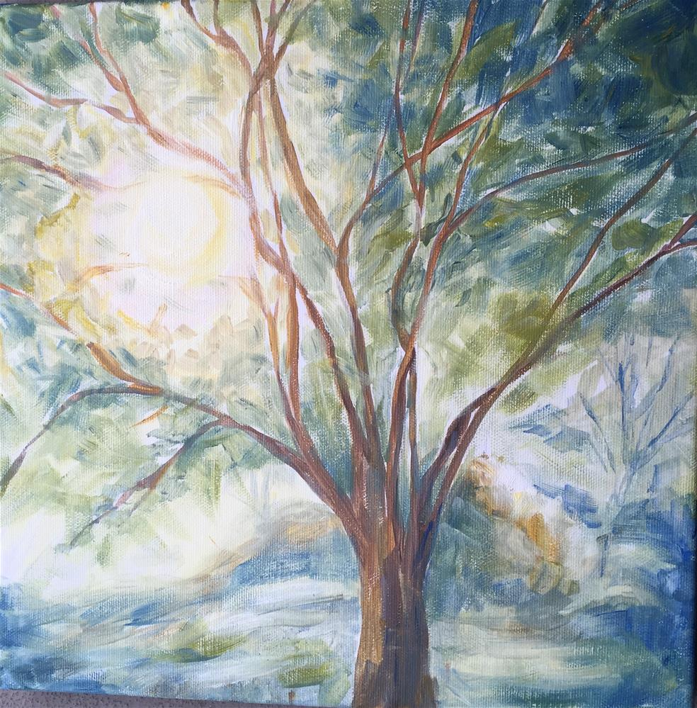 """Spring"" original fine art by Natasha Ramras"