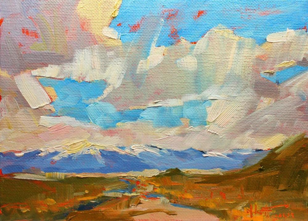 """Wallowa Highway"" original fine art by Melanie Thompson"