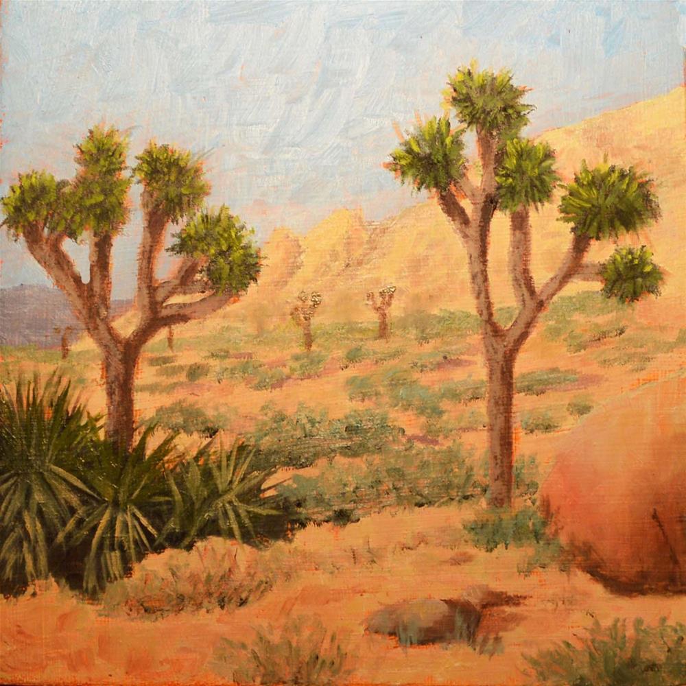 """Joshua Tree"" original fine art by Robert Frankis"