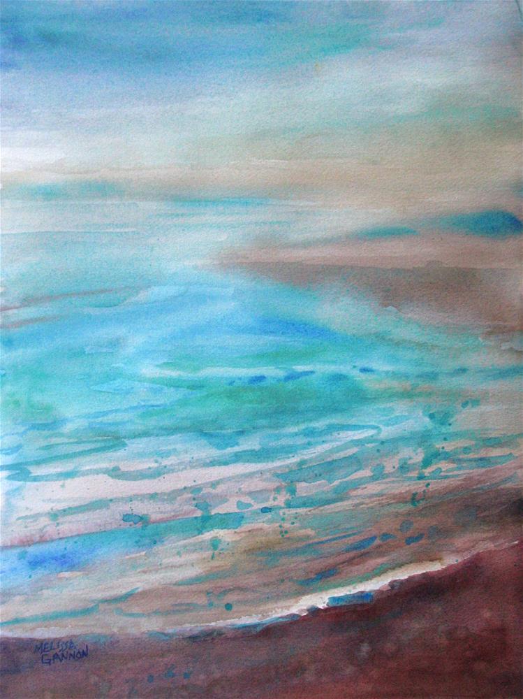 """Misty Mood"" original fine art by Melissa Gannon"