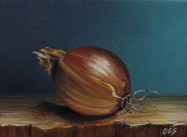 """""""Vidalia Onion"""" original fine art by ~ces~ Christine E. S. Code"""