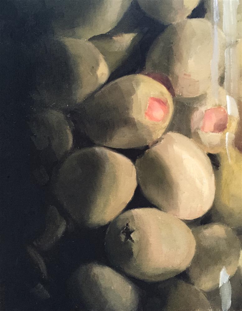 """""""Olives"""" original fine art by James Coates"""