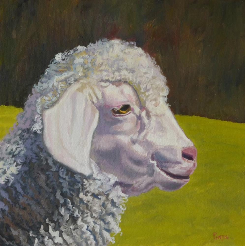 """Placidly"" original fine art by Peter Lentini"