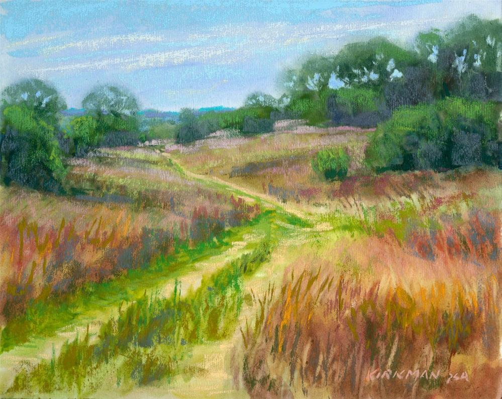 """Ranch Road 18"" original fine art by Rita Kirkman"