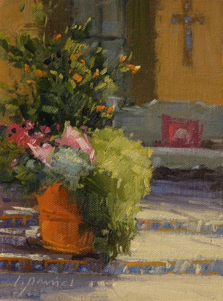 """Garden Gifts"" original fine art by Laurel Daniel"