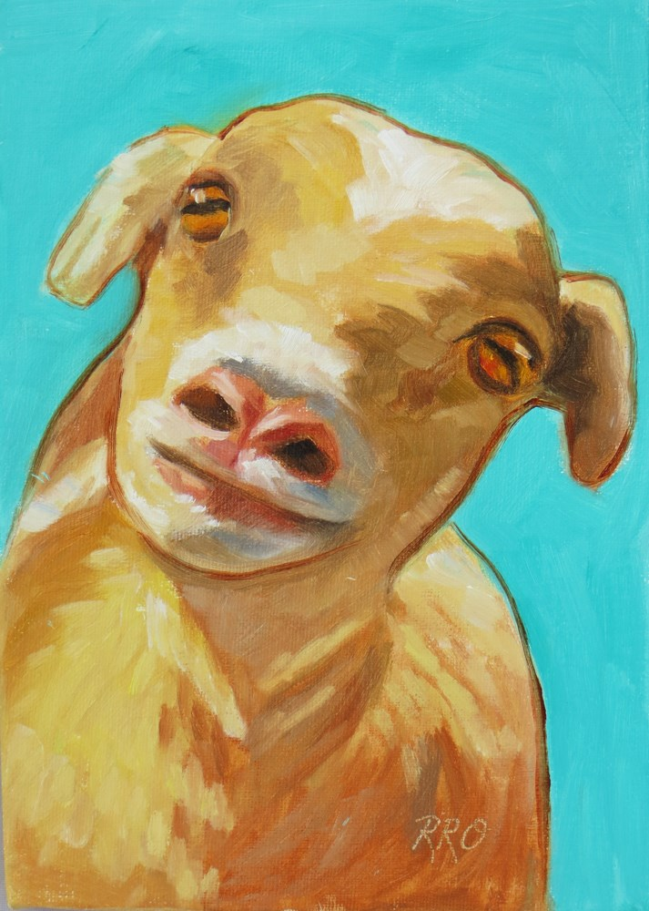 """Who Me?"" original fine art by Rhett Regina Owings"