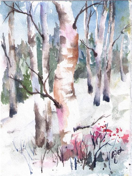 """""""HIllside Beauty"""" original fine art by Sue Dion"""