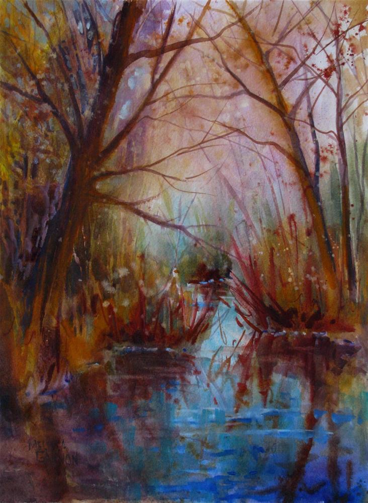 """Woods of Dreams"" original fine art by Melissa Gannon"