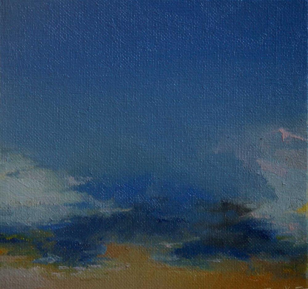 """sky. challenge"" original fine art by Mark DeBak"