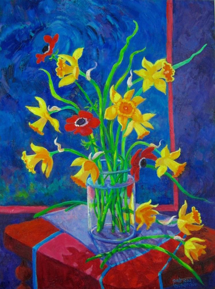 """Not-So-Still Life"" original fine art by Patricia Musgrave"