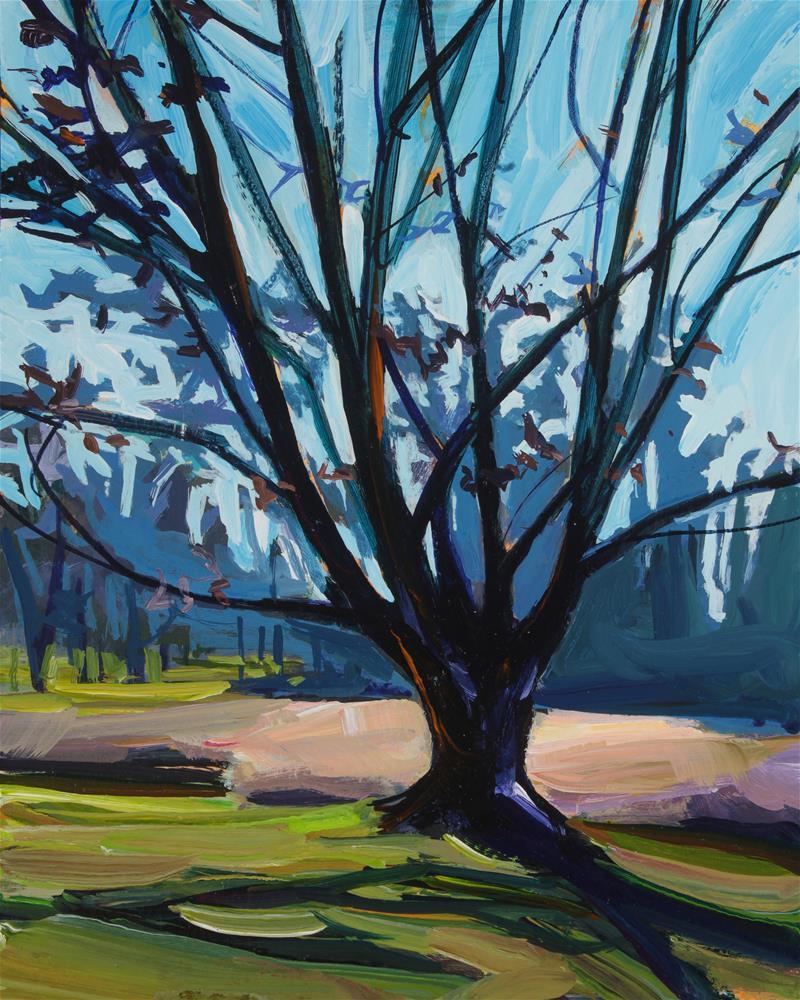 """November Tree"" original fine art by Chris Breier"