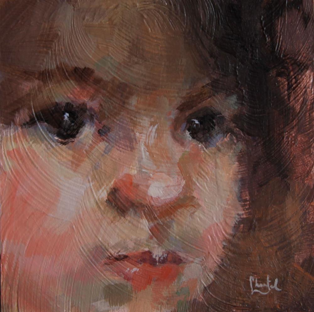 """Shadow and Light"" original fine art by Chantel Barber"