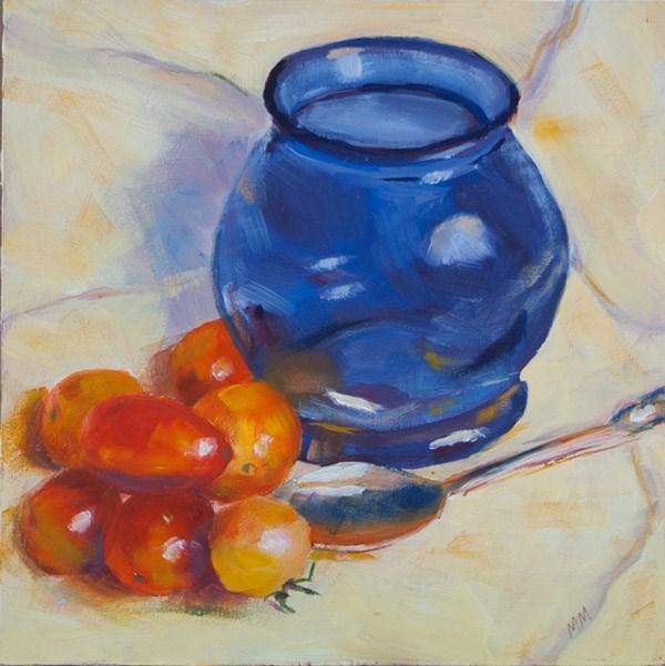 """Tomato Gang"" original fine art by Maria McNitt"