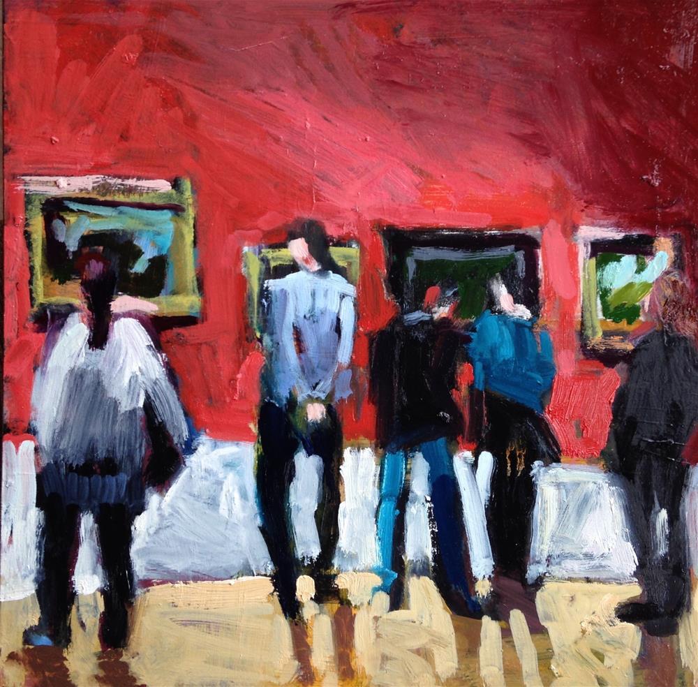 """""""Geranium Walls"""" original fine art by Pamela Hoffmeister"""