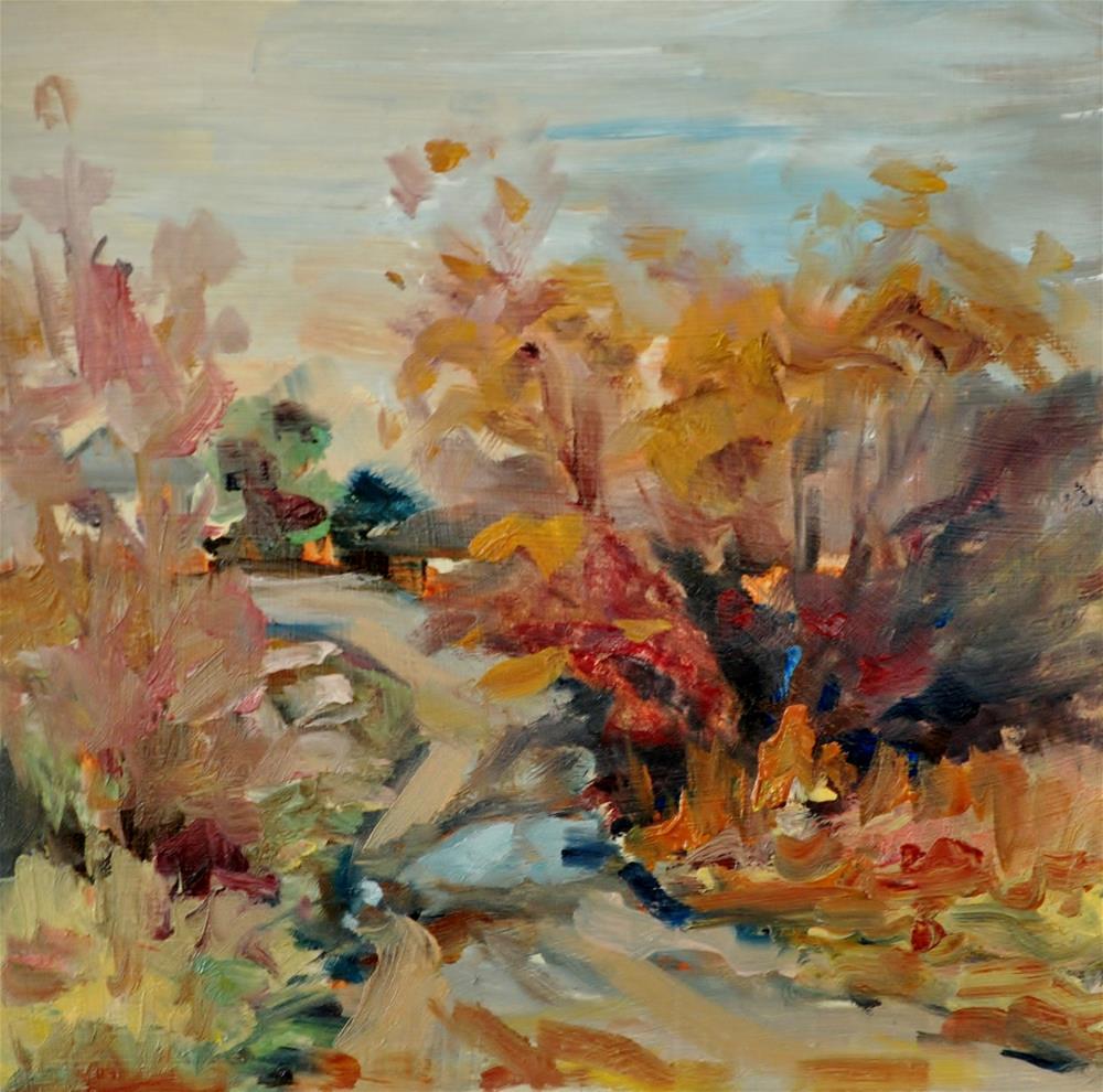 """Rain Rain Go Away"" original fine art by Catherine Crookston"