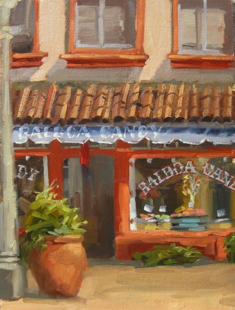 """Balboa Candy"" original fine art by Karen Werner"
