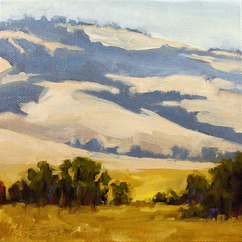 """Peace in the Foothills"" original fine art by Melanie Thompson"