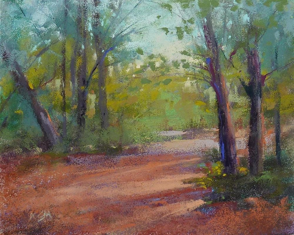 """""""How Many Leaves Does the Tree Need?"""" original fine art by Karen Margulis"""
