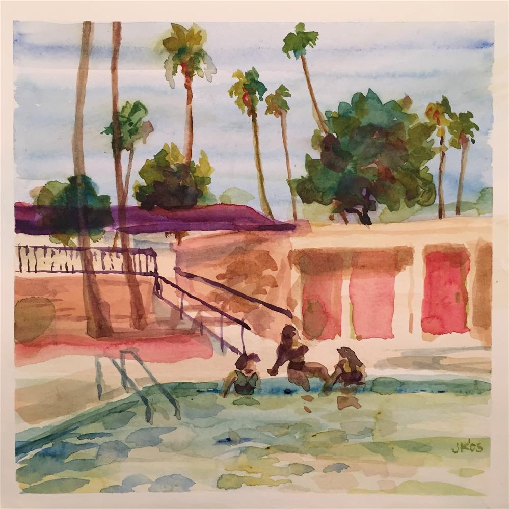 """Spring Break, AZ"" original fine art by Jean Krueger"