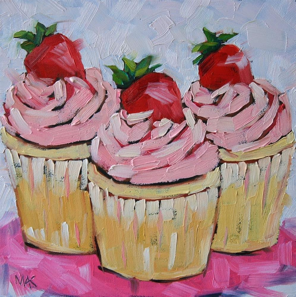 """""""Forget the Cherry on Top"""" original fine art by Mary Anne Cary"""