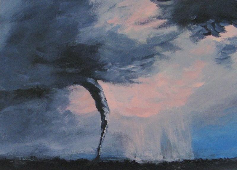 """Tornado VII"" original fine art by Torrie Smiley"