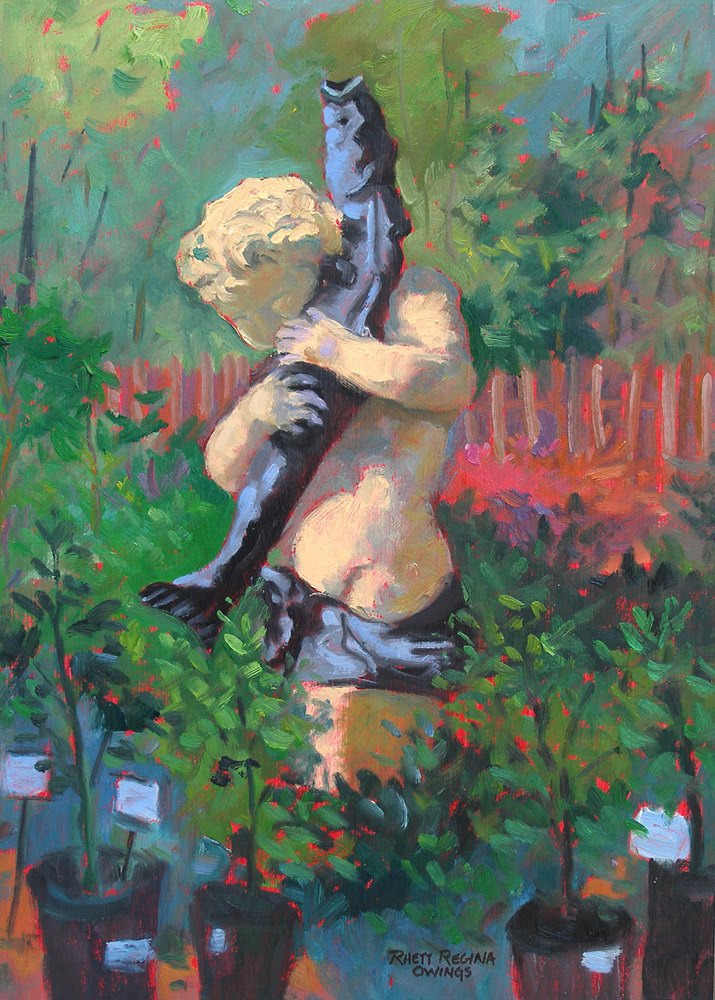 """Nursery Sculpture"" original fine art by Rhett Regina Owings"