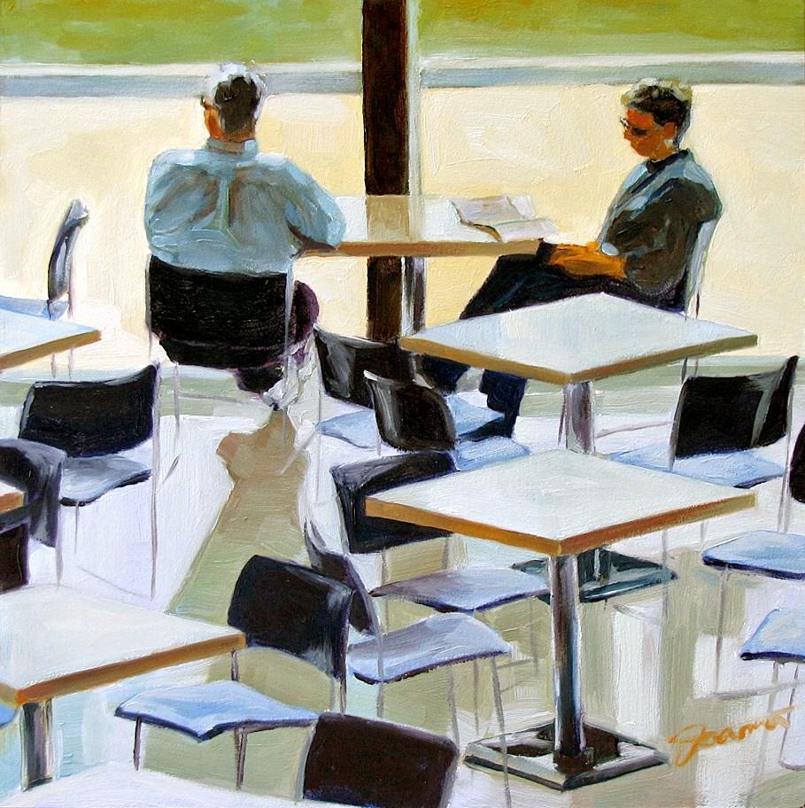"""Couple@Museum-1"" original fine art by Joanna Bingham"
