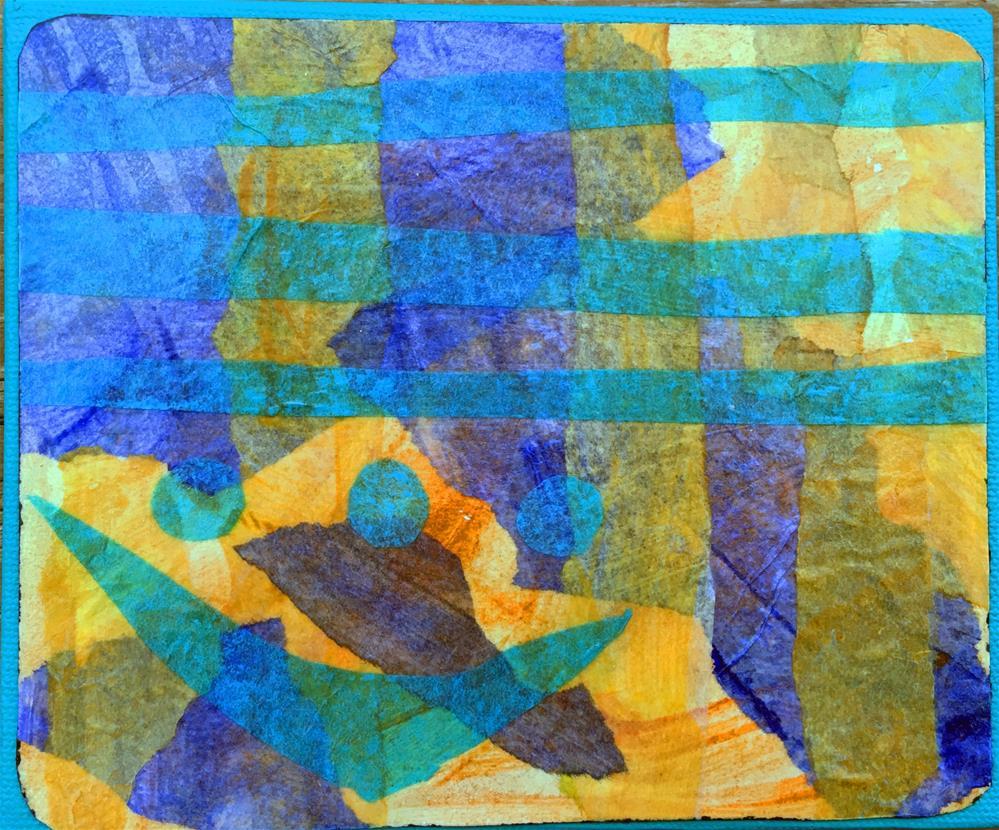 """Under the sea"" original fine art by Maria McNitt"