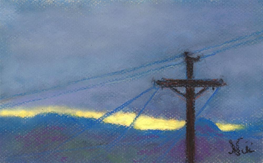 """Early Light"" original fine art by Niki Hilsabeck"