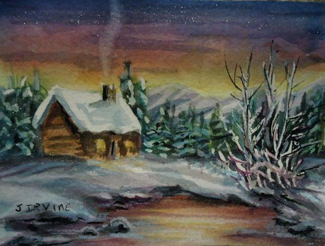 """Images of Christmas"" original fine art by Jackie Irvine"