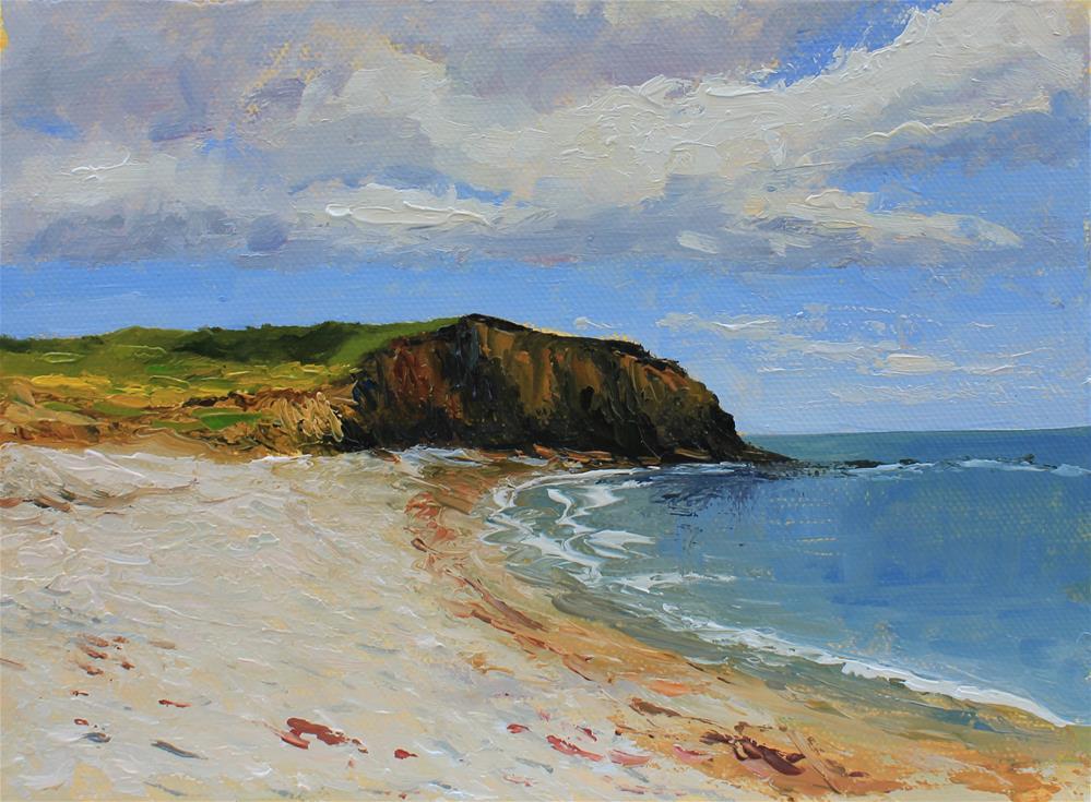 """Seaside"" original fine art by Marco Vazquez"