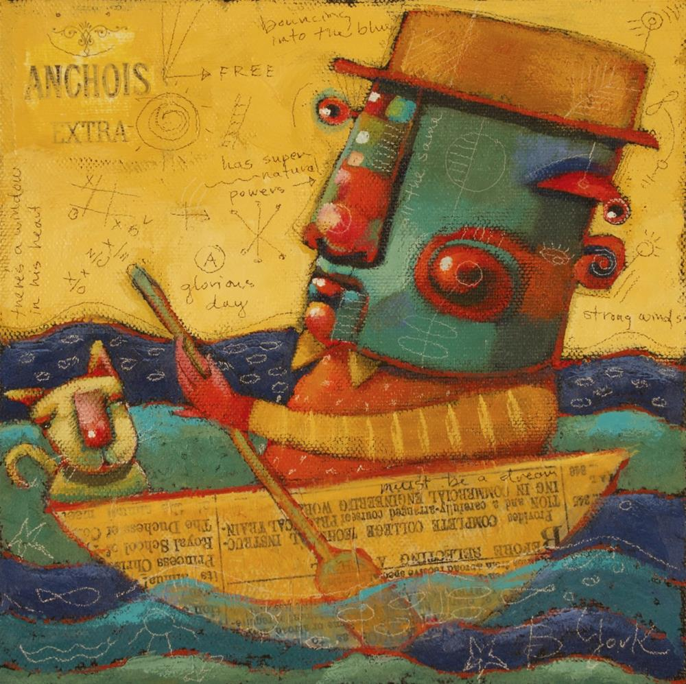 """Life Is But A Dream"" original fine art by Brenda York"