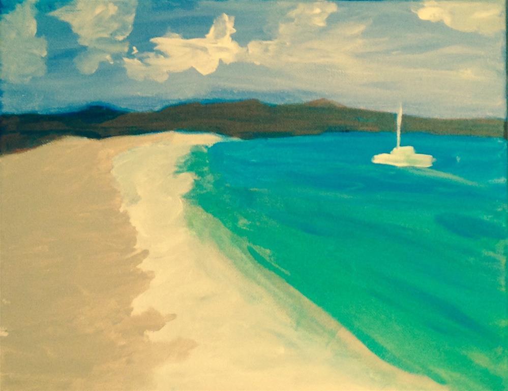 """""""Anchored"""" original fine art by Brenda Smith"""