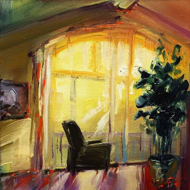 """""""early sun"""" original fine art by Jurij Frey"""