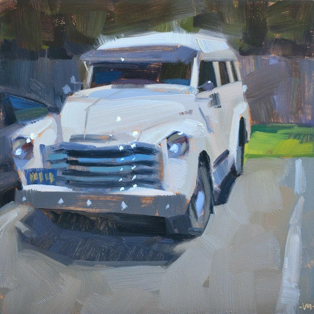 """""""Poker Car"""" original fine art by Carol Marine"""