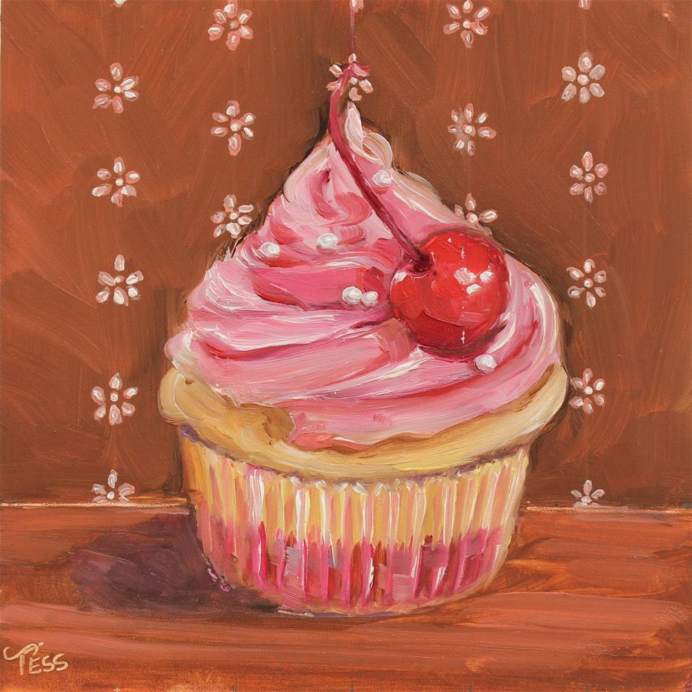 """Sweetest Thing- U2"" original fine art by Tess Lehman"
