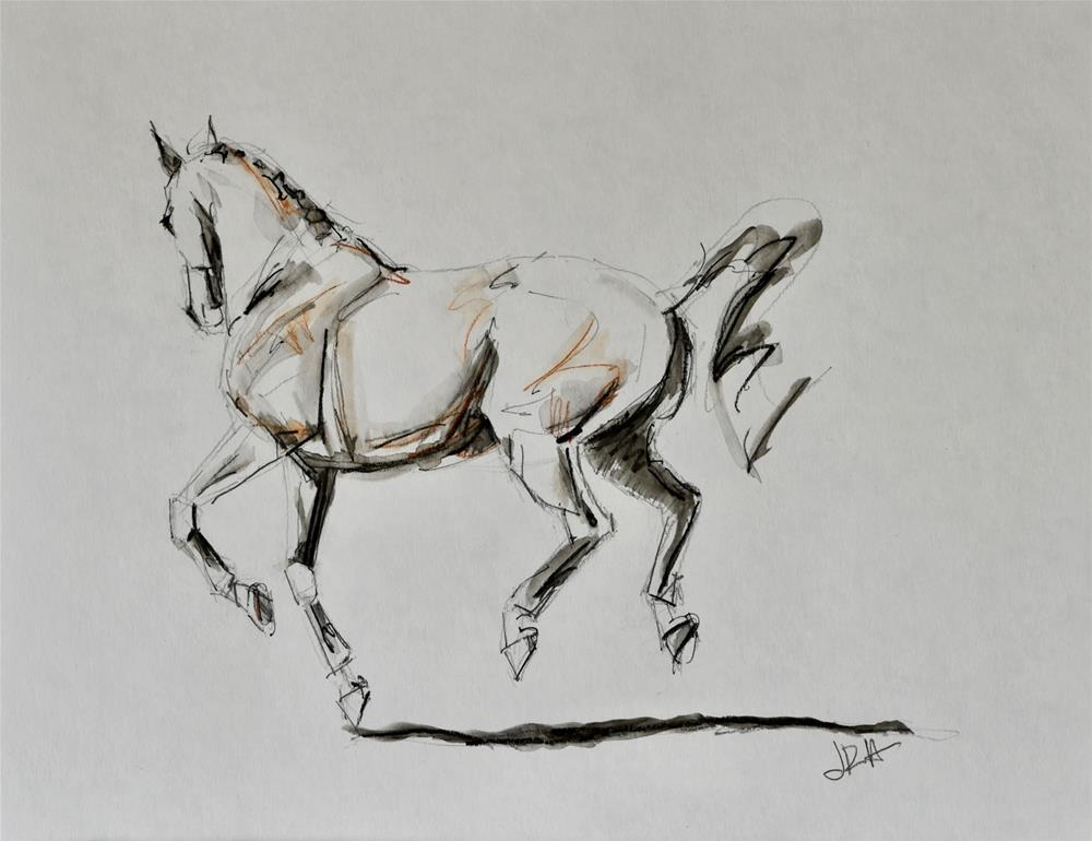 """Sketch the Moment #4"" original fine art by Jennifer Pratt"