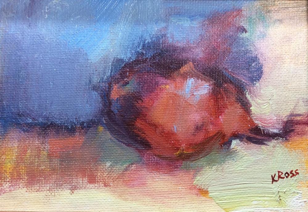 """Lil red onion"" original fine art by Kathryn Ross"