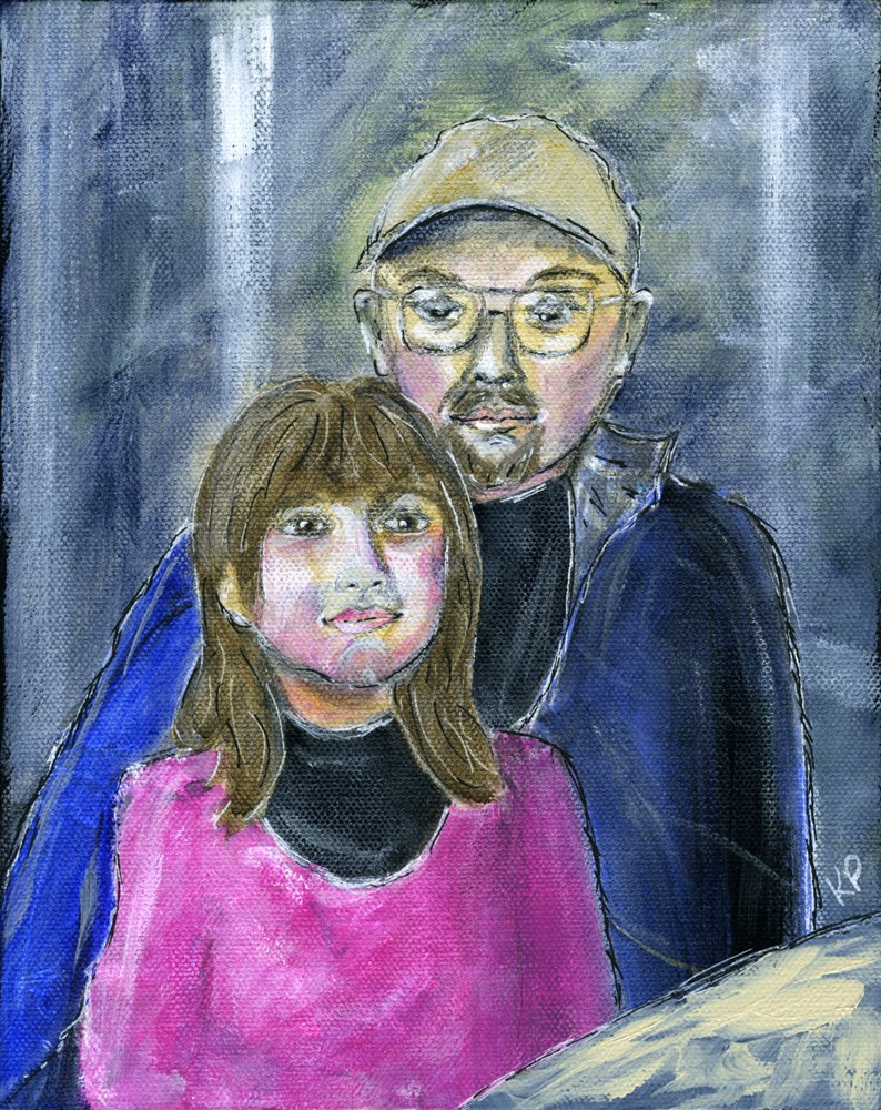 """Dani and My Billy"" original fine art by Kali Parsons"