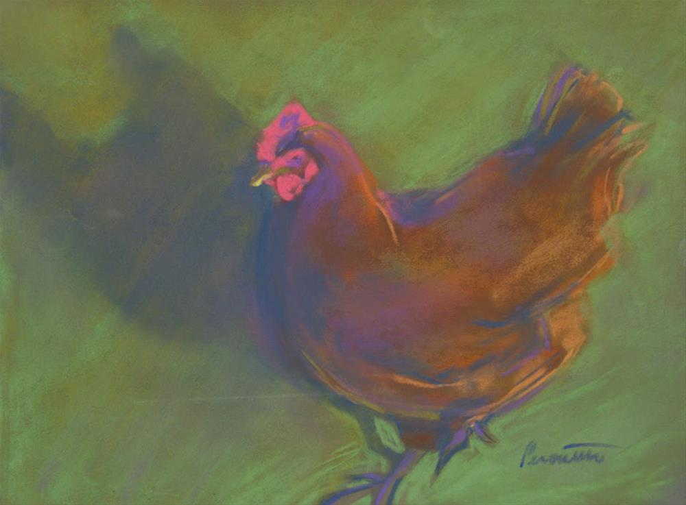 """""""Me and My Shadow"""" original fine art by Sarah Peroutka"""